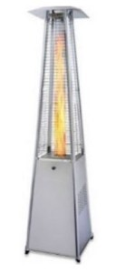 Outdoor heater Pyramid Flame Tube
